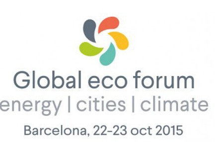 Save the Date: Global Eco Forum 2015