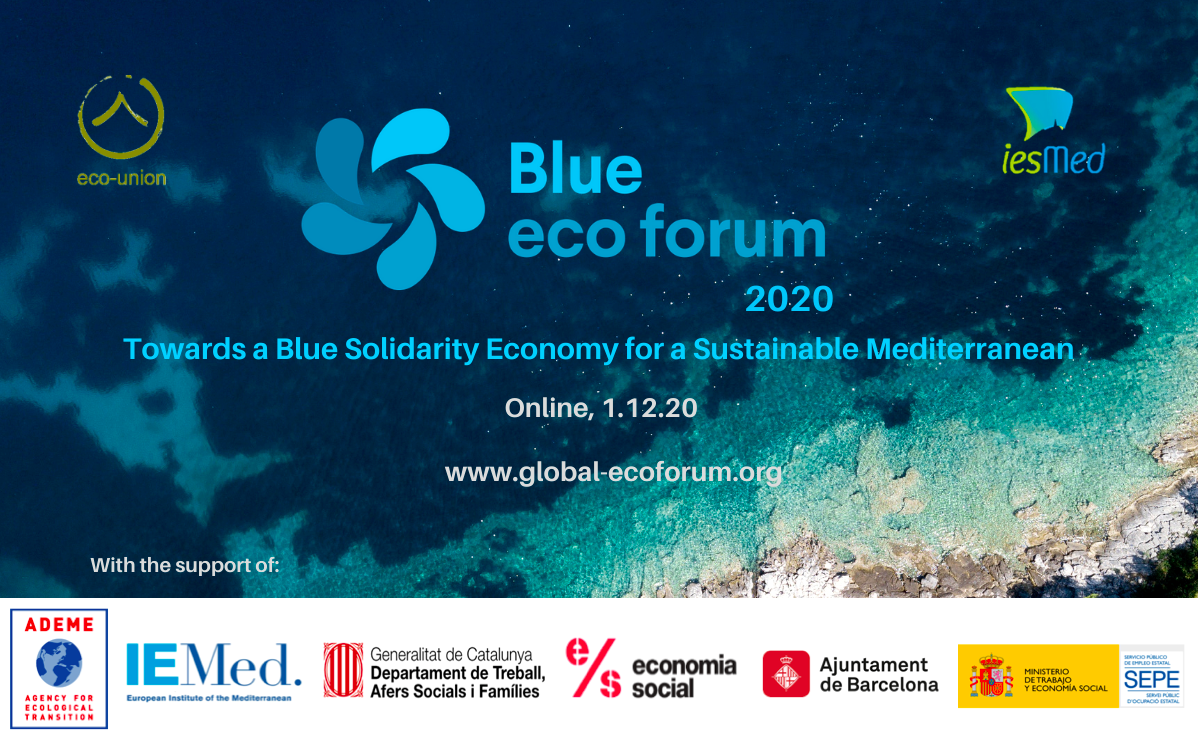Conclusion from the BEF 2020: A blue Solidarity Economy for a Sustainable Mediterrannean region